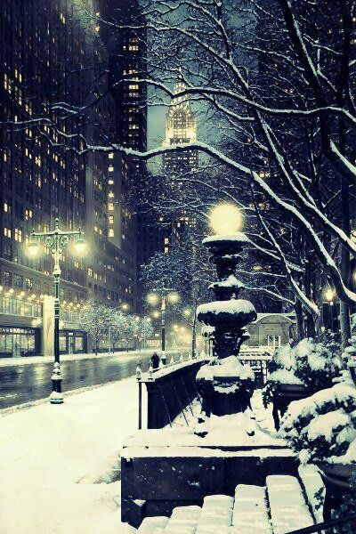 There's nothing like a New York winter.