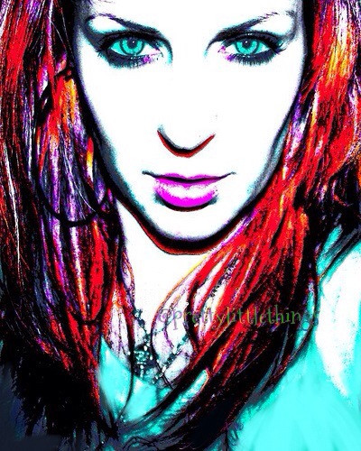 """just #selfie time   """"THANKS EVRYONE """" for voting my pics and comments in the contest without you I won't made it to top10..\\muah//   #poster effect #people  #abstract  #selfportrait"""