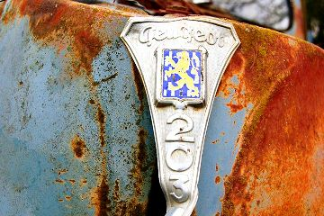 abstract colorful photography cars rust