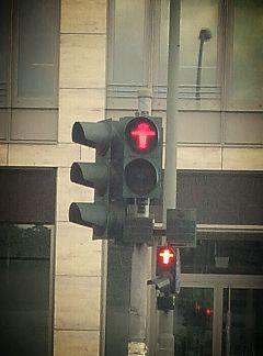 rot ampel berlin