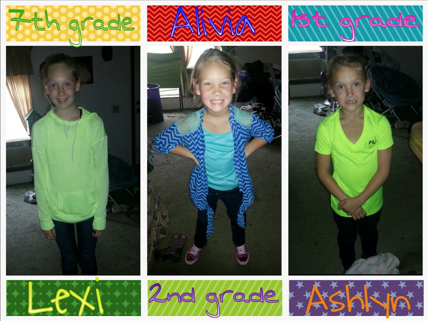 First day of School #1st #2nd #7th #August202014
