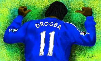 drogba drawing respect