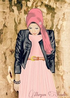 girly photography my work art hijab