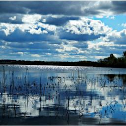 nature lake lastspring russiannature