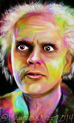 art christopherlloyd backtothefuture greatscott martymcfly