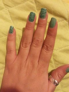 nailpolish nailsart green nailspassion nailsbyalaa