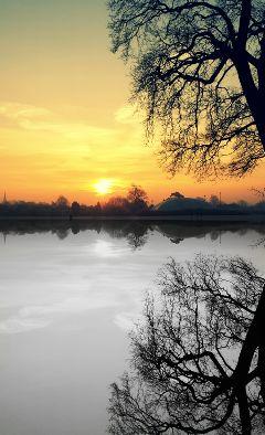 reflection sun artistic photography sunrise