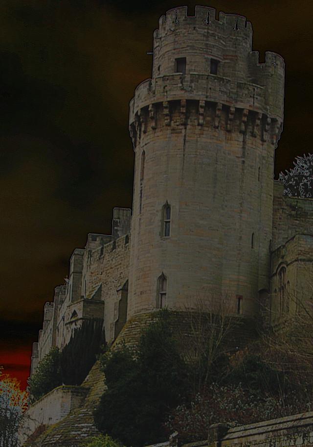 Warwick Castle.       England.