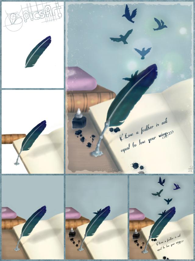 #feather #stepbystep #tutorial #drawing