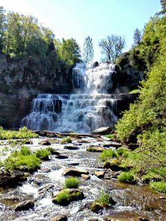 falls water nature